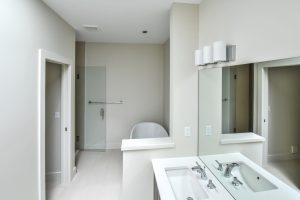 Crestline home - bathroom