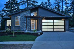 Crestline home - exterior front